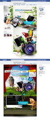 facbook aplication by webdesigner1921
