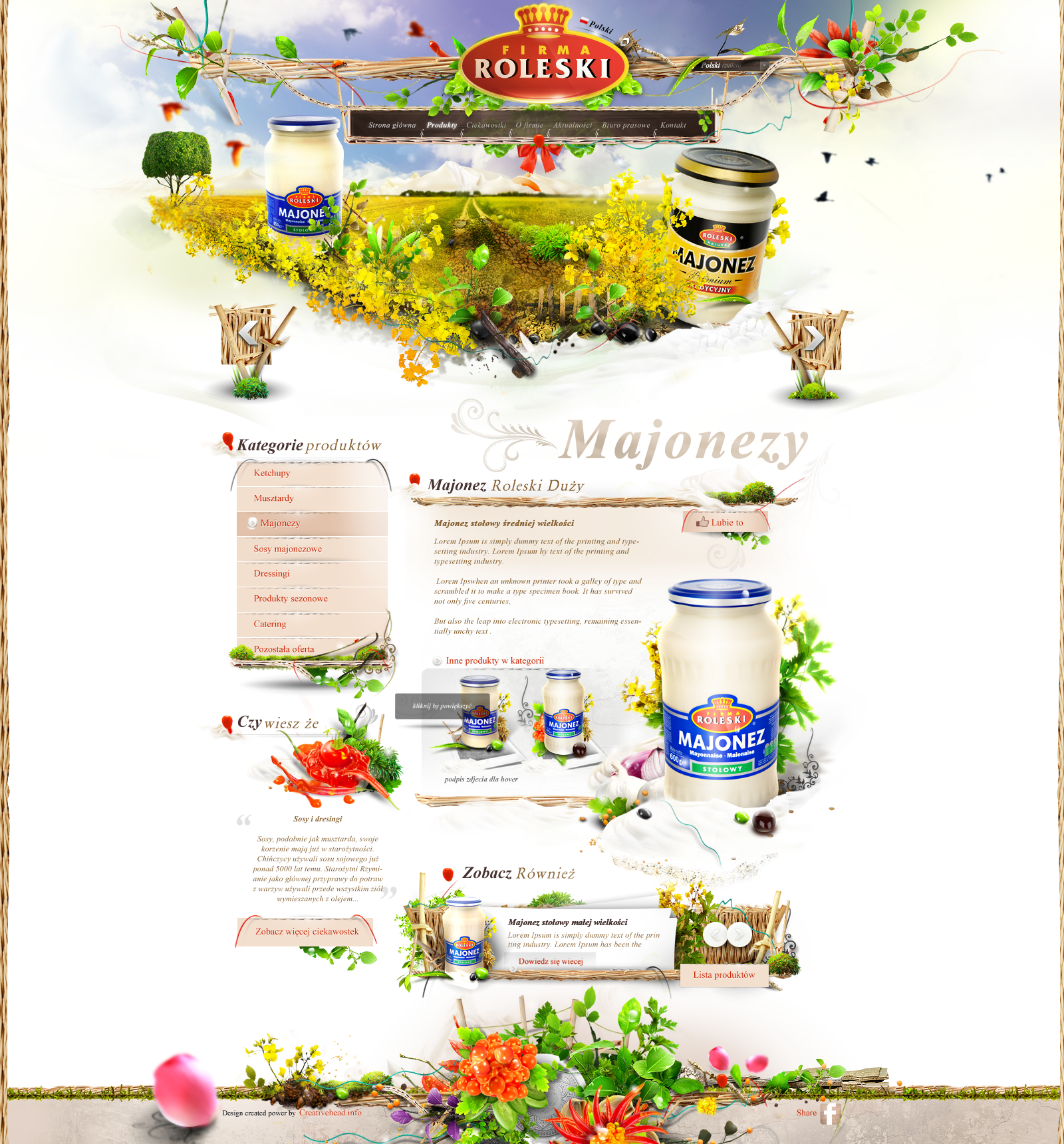 Roleski product page - mayonnaise by webdesigner1921