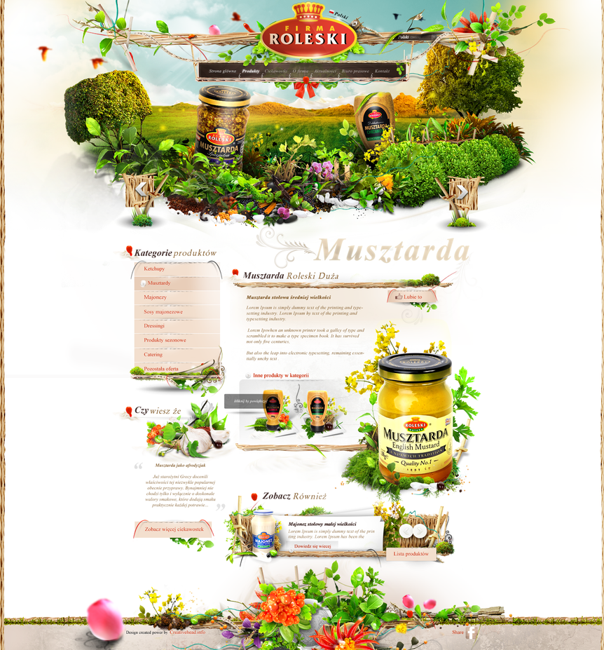 Roleski product page - mustard by webdesigner1921