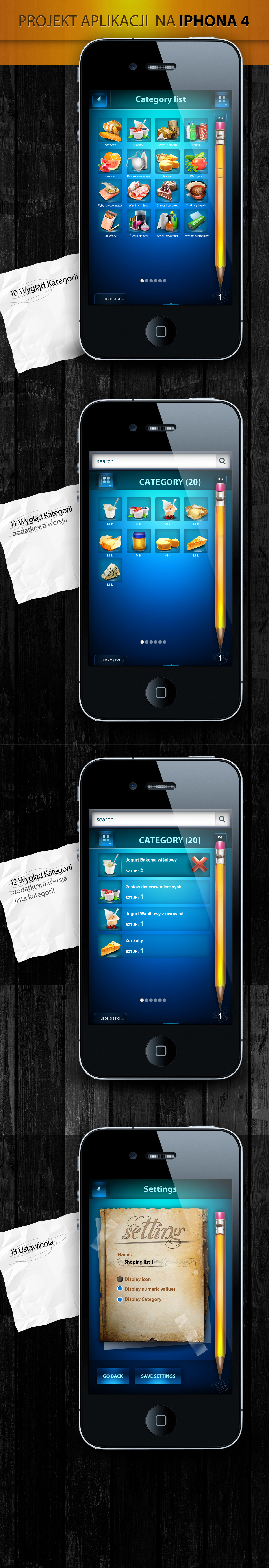 iphone 4 app -  other screen application by webdesigner1921