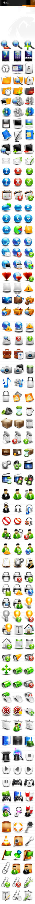 iconset0001 - 4500 icons for 99 $ only by webdesigner1921