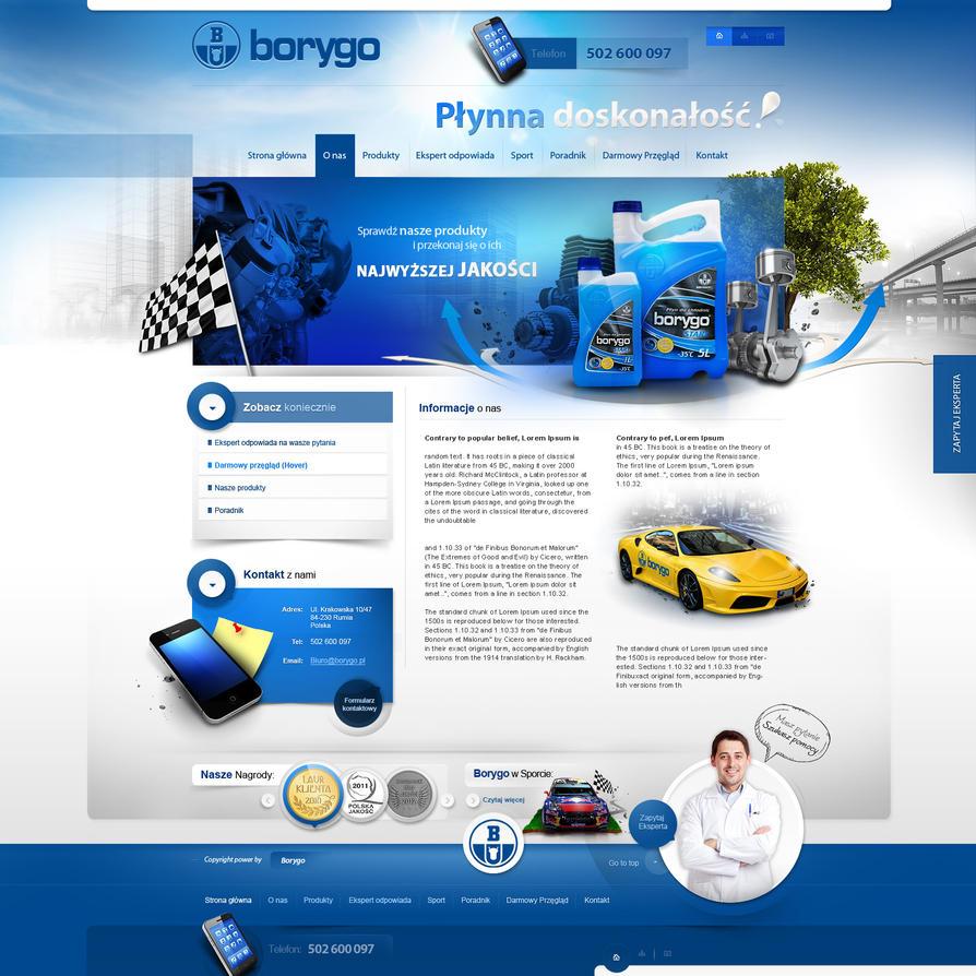 Borygo subpage by webdesigner1921