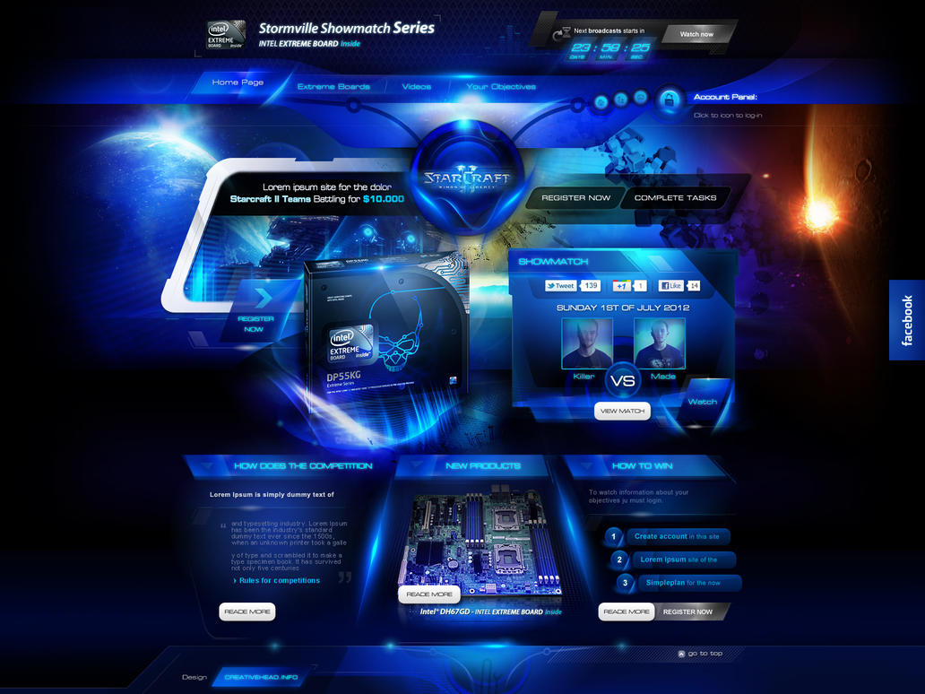 intel extreme board by webdesigner1921