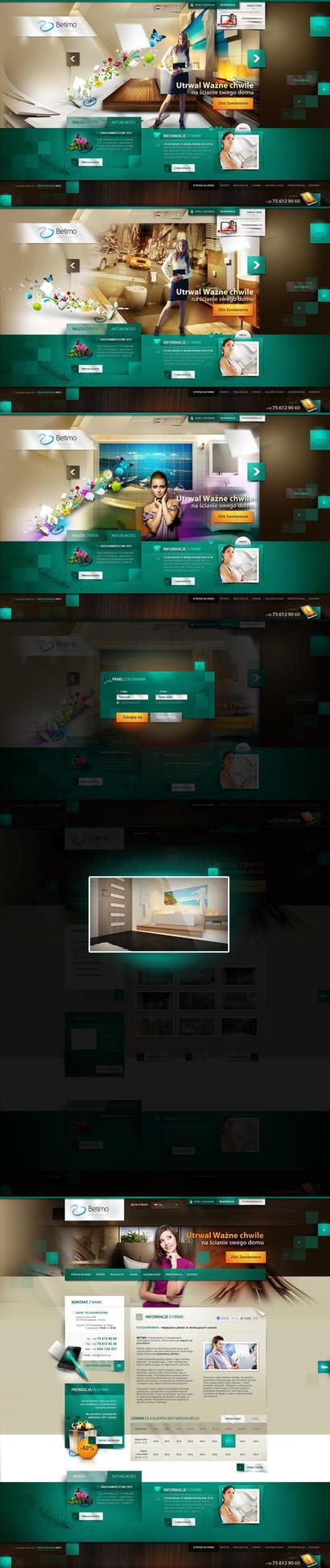 Betimo.pl - liquide website by webdesigner1921