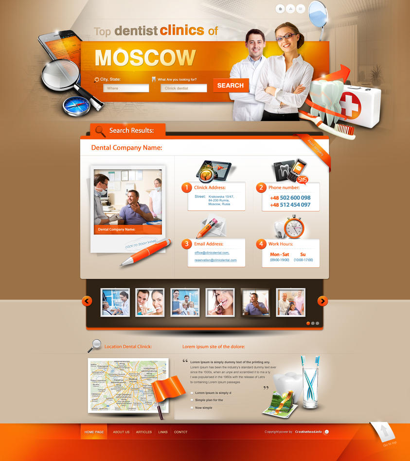 Dental clinics by webdesigner1921
