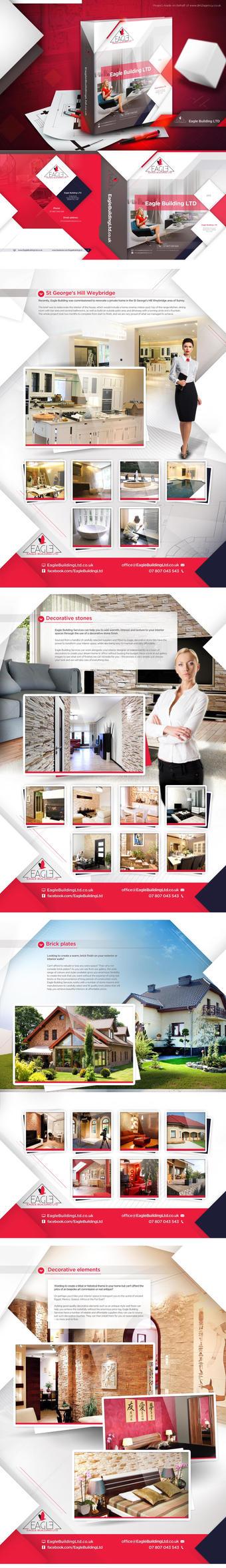 Eagle Building LTD  - binder by webdesigner1921
