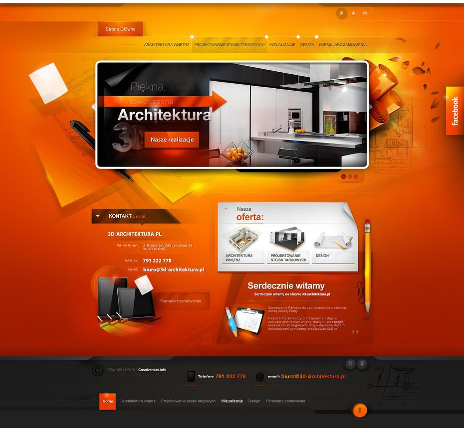 3d-architektura.pl - website version 1 by webdesigner1921