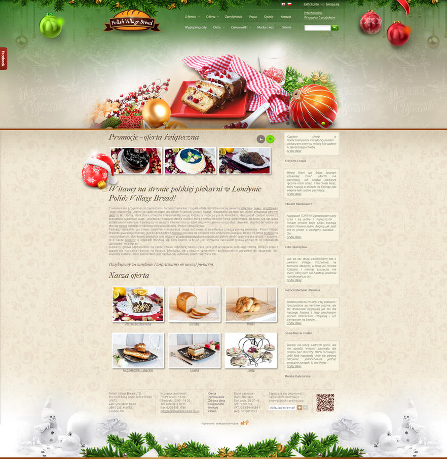 Dm2agency christmas decoration for website by for Website decoration