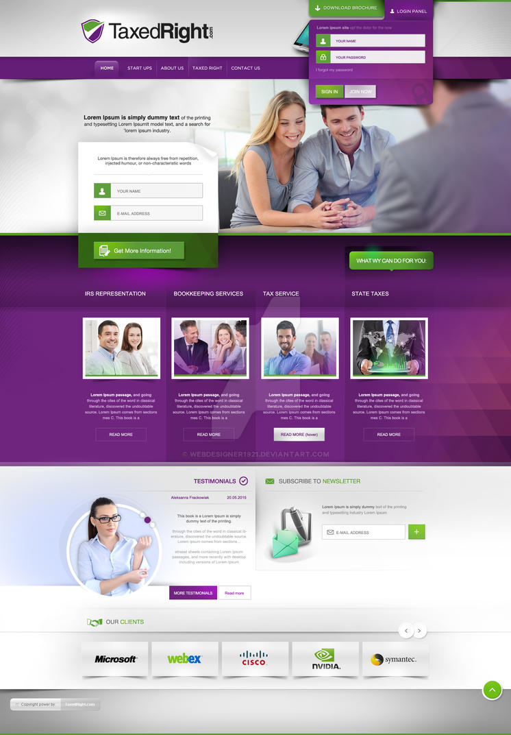website design by webdesigner1921