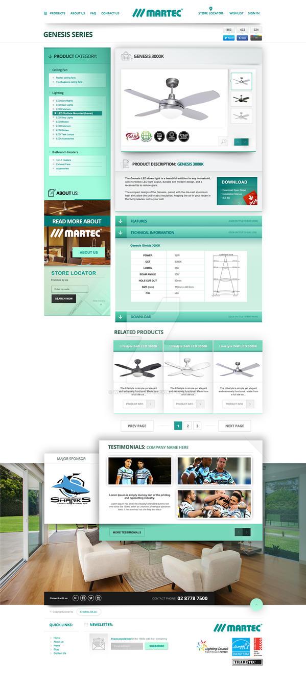MARTEC store design by webdesigner1921