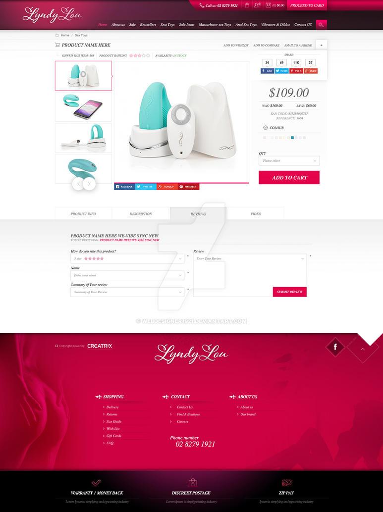 LyndyLou - full description page by webdesigner1921