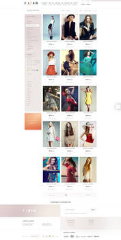 FASH AFFAIR - product listing page