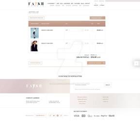 FASH AFFAIR - shopping cart