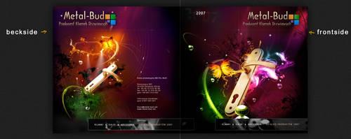 metal-bud folder reklamowy by webdesigner1921