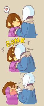 [Undertale] Kiss