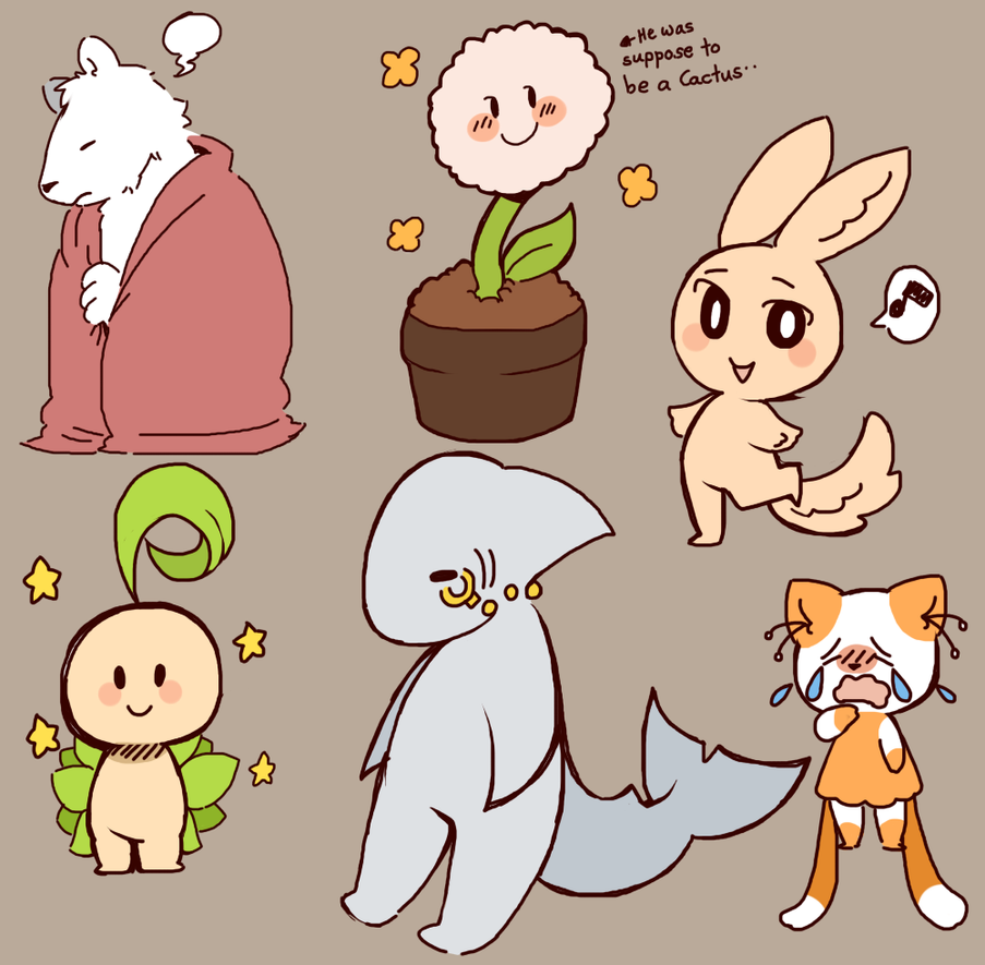[Enumue and Friends] by wolfifi