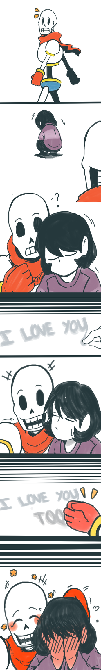 [Undertale] Exchanging Feelings by wolfifi