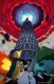 Pokemon Explorers of Sky - TEMPORAL TOWER