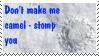 Camel stomp stamp by agoneth