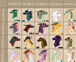 Cheap Wings Of Fire Adopts *4/20 OPEN* by RekindletheMoonrise