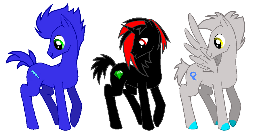 ponyfied sonic characters on mlp and sonic heroes deviantart