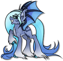 .:Commission:. Lumineax Touffe by Spitfire-SOS