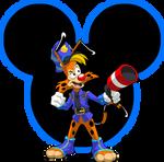 KH Keyblade: Bonkers D. Bobcat