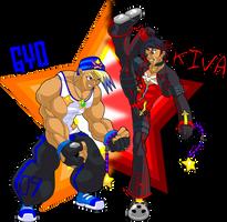 KH Keyblade: Gyo and Kiva