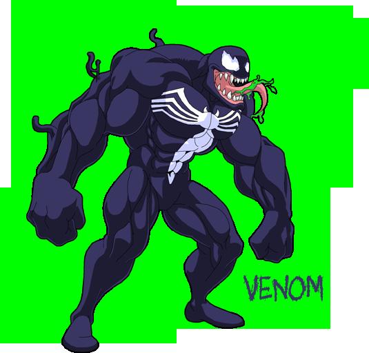 Fanart: Venom by Kato-Regama