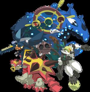Kato Alola Pokemon Team