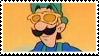 Dj Luigi stamp by NeoCallie