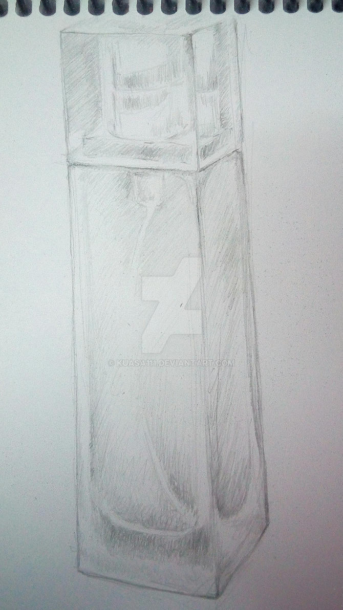 perfume bottle sketch by kuasa111