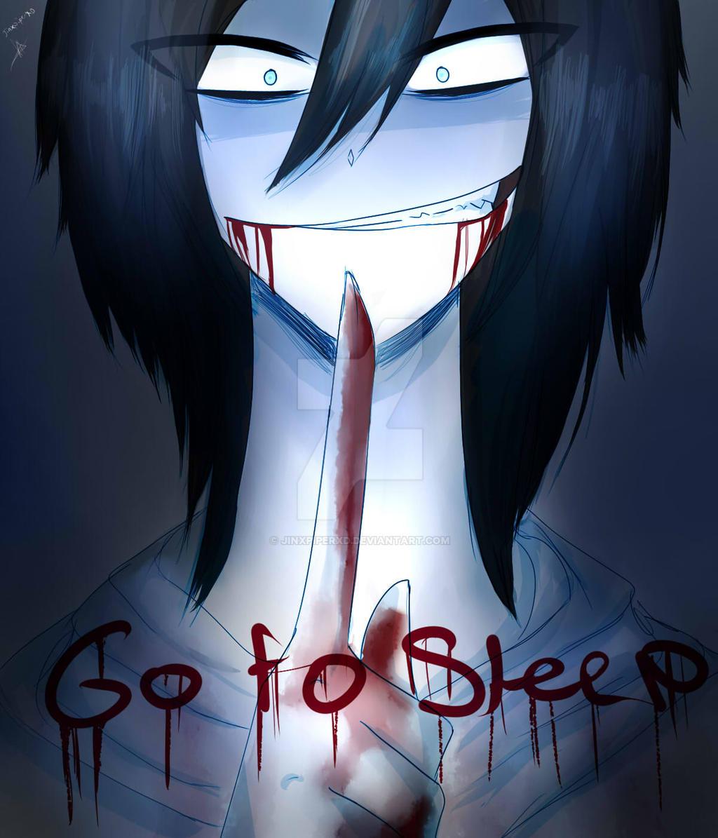 Anime Jeff The Killer Go To Sleep Gallery