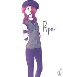 OC- Piper (With new outifit!)