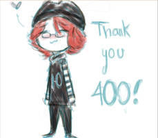 Thank you! 400 watchers!