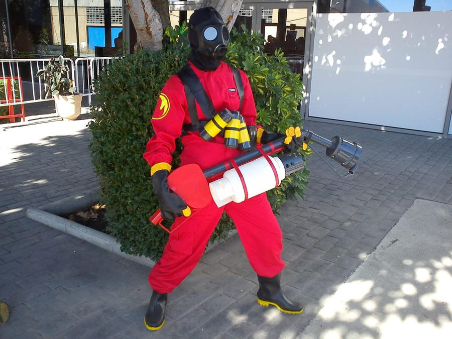 Pyro Tf2 Cosplay Pyro cosplay (wip) by ...
