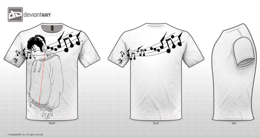 Part of life music t shirt design by untangled on deviantart Music shirt design ideas