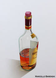Bottle of Brandy by Marcello Barenghi by marcellobarenghi