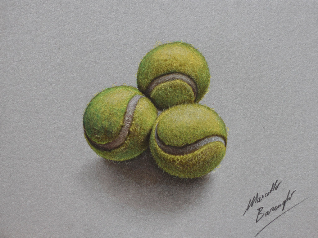 Tennis balls by marcellobarenghi
