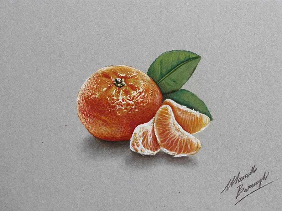 Mandarin orange by marcellobarenghi