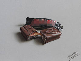 Choco Bar DRAWING by Marcello Barenghi