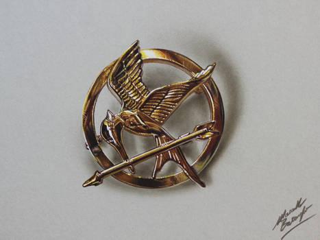 Mockingjay Pin (The Hunger Games) DRAWING