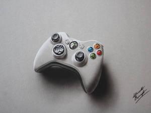 Controller XBOX Joypad DRAWING Marcello Barenghi