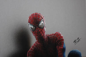 Amazing Spider-man DRAWING by Marcello Barenghi by marcellobarenghi