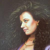 Portrait (painted it when I was 20)