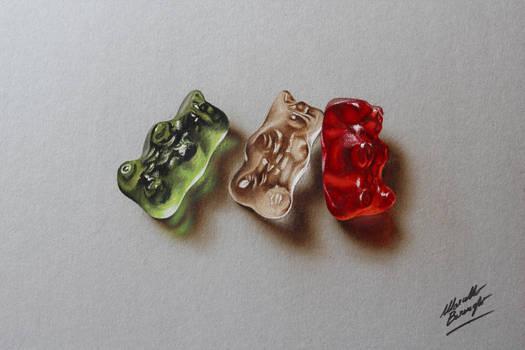 Gummy Bears Drawing