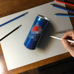 3D drawing Can