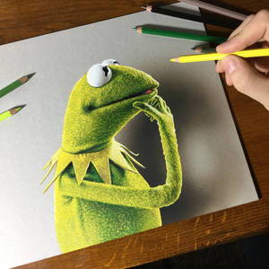 Kermit the frog, a tribute to Jim Henson