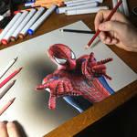 Amazing Spider-Man Drawing