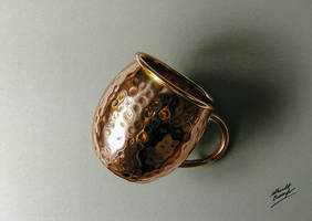 Copper Rendering - 3D drawing by marcellobarenghi